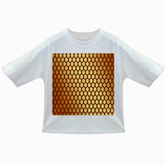 Red And Gold Effect Backing Paper Infant/Toddler T-Shirts