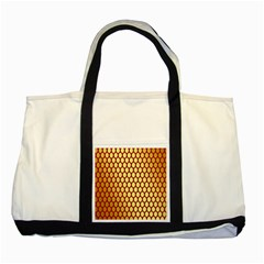Red And Gold Effect Backing Paper Two Tone Tote Bag