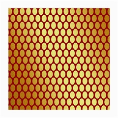 Red And Gold Effect Backing Paper Medium Glasses Cloth (2-Side)