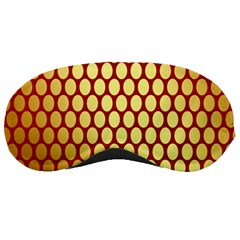 Red And Gold Effect Backing Paper Sleeping Masks