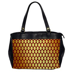 Red And Gold Effect Backing Paper Office Handbags