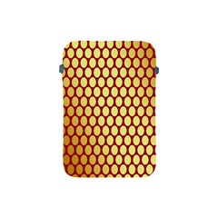 Red And Gold Effect Backing Paper Apple iPad Mini Protective Soft Cases