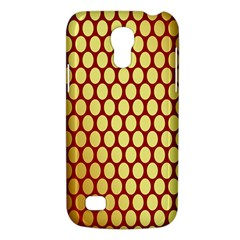 Red And Gold Effect Backing Paper Galaxy S4 Mini