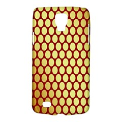 Red And Gold Effect Backing Paper Galaxy S4 Active