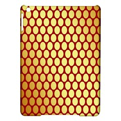Red And Gold Effect Backing Paper Ipad Air Hardshell Cases