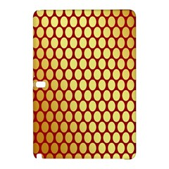 Red And Gold Effect Backing Paper Samsung Galaxy Tab Pro 10.1 Hardshell Case
