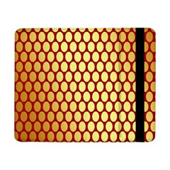 Red And Gold Effect Backing Paper Samsung Galaxy Tab Pro 8.4  Flip Case