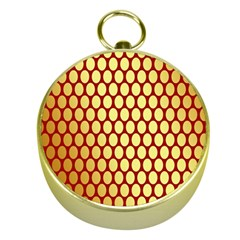 Red And Gold Effect Backing Paper Gold Compasses