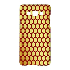 Red And Gold Effect Backing Paper Samsung Galaxy A5 Hardshell Case