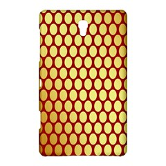Red And Gold Effect Backing Paper Samsung Galaxy Tab S (8.4 ) Hardshell Case