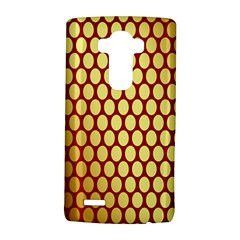 Red And Gold Effect Backing Paper Lg G4 Hardshell Case
