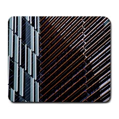 Red And Black High Rise Building Large Mousepads