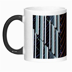 Red And Black High Rise Building Morph Mugs