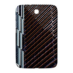 Red And Black High Rise Building Samsung Galaxy Note 8 0 N5100 Hardshell Case