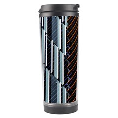 Red And Black High Rise Building Travel Tumbler