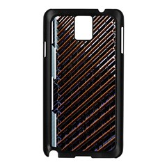 Red And Black High Rise Building Samsung Galaxy Note 3 N9005 Case (black)