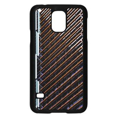 Red And Black High Rise Building Samsung Galaxy S5 Case (Black)