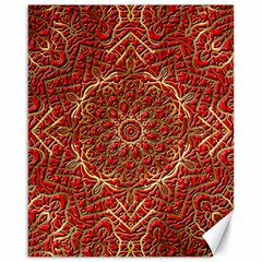 Red Tile Background Image Pattern Canvas 16  x 20