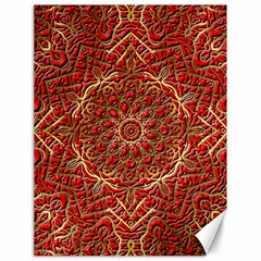 Red Tile Background Image Pattern Canvas 18  X 24