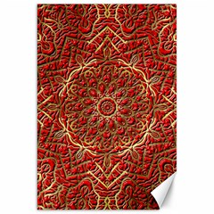 Red Tile Background Image Pattern Canvas 20  x 30