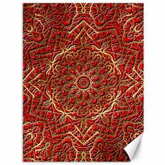 Red Tile Background Image Pattern Canvas 36  X 48
