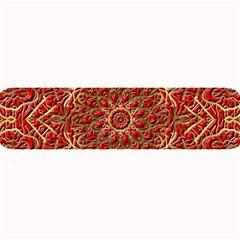 Red Tile Background Image Pattern Large Bar Mats