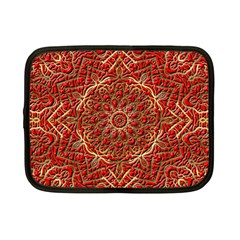 Red Tile Background Image Pattern Netbook Case (small)