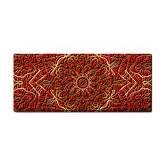 Red Tile Background Image Pattern Cosmetic Storage Cases