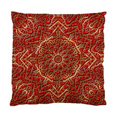 Red Tile Background Image Pattern Standard Cushion Case (two Sides)