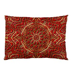 Red Tile Background Image Pattern Pillow Case