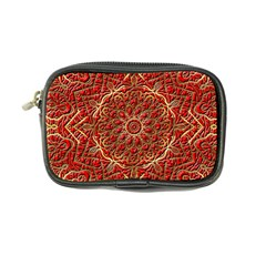 Red Tile Background Image Pattern Coin Purse