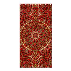 Red Tile Background Image Pattern Shower Curtain 36  x 72  (Stall)