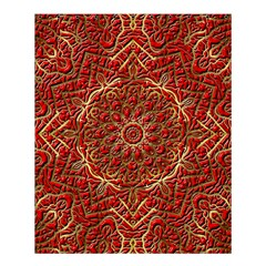 Red Tile Background Image Pattern Shower Curtain 60  x 72  (Medium)