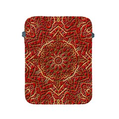 Red Tile Background Image Pattern Apple iPad 2/3/4 Protective Soft Cases