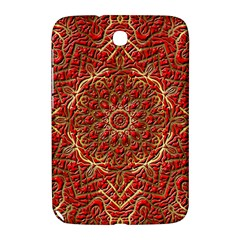 Red Tile Background Image Pattern Samsung Galaxy Note 8.0 N5100 Hardshell Case