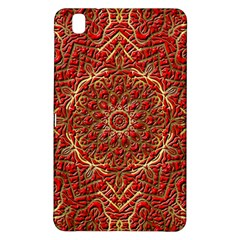 Red Tile Background Image Pattern Samsung Galaxy Tab Pro 8 4 Hardshell Case