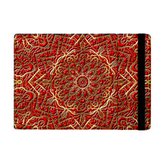 Red Tile Background Image Pattern iPad Mini 2 Flip Cases
