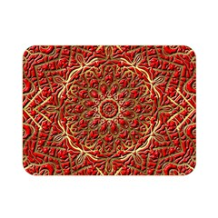 Red Tile Background Image Pattern Double Sided Flano Blanket (mini)