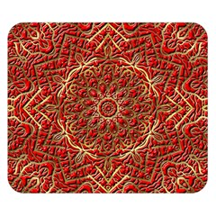 Red Tile Background Image Pattern Double Sided Flano Blanket (small)