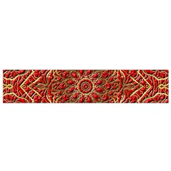 Red Tile Background Image Pattern Flano Scarf (Small)