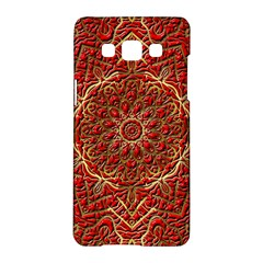 Red Tile Background Image Pattern Samsung Galaxy A5 Hardshell Case