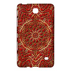 Red Tile Background Image Pattern Samsung Galaxy Tab 4 (8 ) Hardshell Case