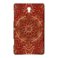 Red Tile Background Image Pattern Samsung Galaxy Tab S (8.4 ) Hardshell Case