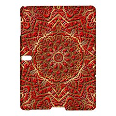 Red Tile Background Image Pattern Samsung Galaxy Tab S (10.5 ) Hardshell Case