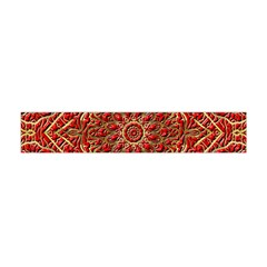 Red Tile Background Image Pattern Flano Scarf (Mini)