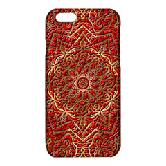 Red Tile Background Image Pattern iPhone 6/6S TPU Case