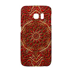 Red Tile Background Image Pattern Galaxy S6 Edge