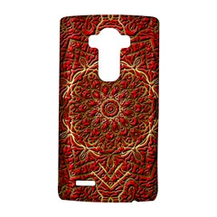 Red Tile Background Image Pattern LG G4 Hardshell Case
