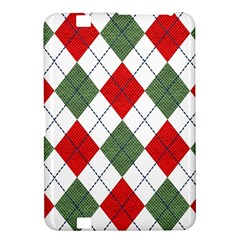 Red Green White Argyle Navy Kindle Fire HD 8.9