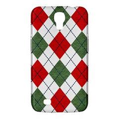 Red Green White Argyle Navy Samsung Galaxy Mega 6 3  I9200 Hardshell Case